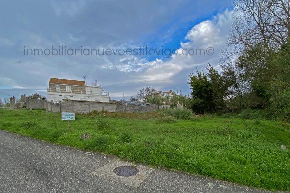 Estupendo terreno de 600m² edificable con licencia directa en Samil-Vigo-zona playas