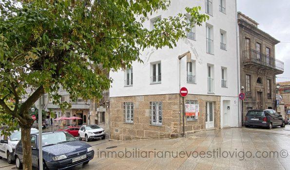Pequeño local a pie de calle, C/ Travesía Franco-Vigo_zona centro/casco vello