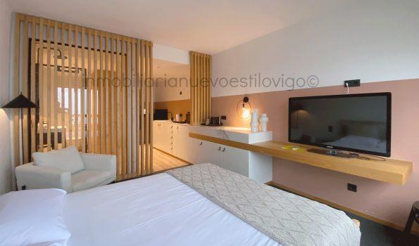 Moderno y exclusivo apartamento con impresionantes vistas al mar en c/Cánovas del Castillo- Vigo_zona marítima centro