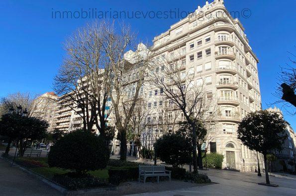 Espectacular oficina exterior y soleada en plena Alameda, Plaza de Compostela-Vigo_zona centro
