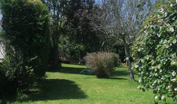 Casa de piedra con hórreo y casita de invitados independiente con jardín de 1.600m², Camos-Nigrán_zona playas interior