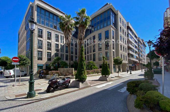 Exclusiva oficina de 105 m2 en la 5º planta del edificio Arguelles, C/ Luis Taboada-Vigo_zona centro