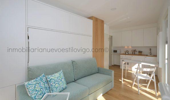 Estudio ideal situado en edificio recién rehabilitado, C/ Travesía do Franco-Vigo_zona casco histórico
